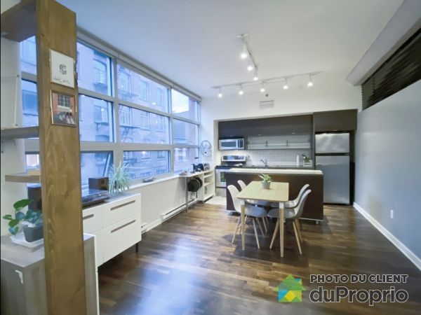 Living / Dining Room - 313-630 rue William, Ville-Marie (Centre-Ville et Vieux Mtl) for sale