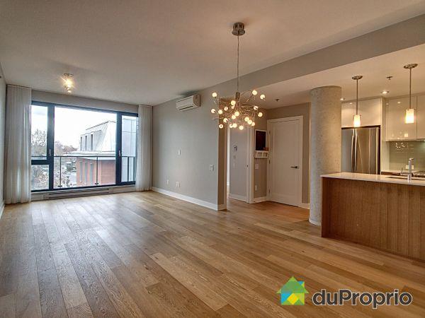 Dining Room / Living Room - 416-3100 rue Rachel Est, Rosemont / La Petite Patrie for sale