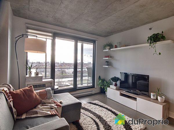 Living Room - 1105-1375 rue des Bassins, Griffintown for sale