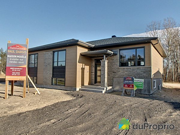 Modèle Québécoise 2 - rue P.-Dizy-Montplaisir - Par les Habitations Paul Dargis, Trois-Rivières (Ste-Marthe-Du-Cap) à vendre