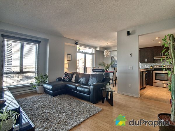 Living / Dining Room - 1206-3875 boulevard de Chenonceau, Chomedey for sale