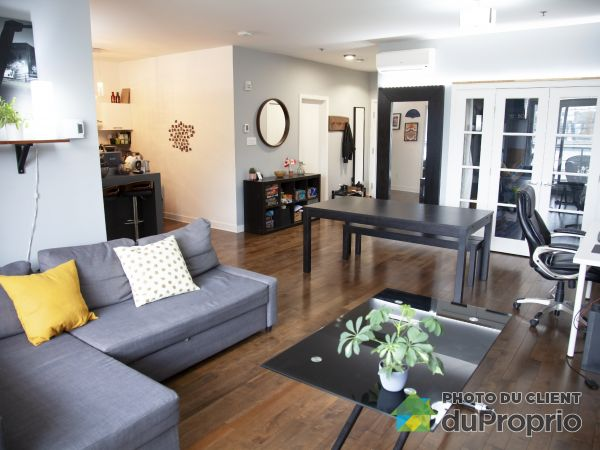 Living / Dining Room - 307-5650 rue Chambord, Rosemont / La Petite Patrie for sale