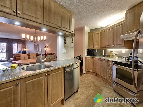 Kitchen - 605-818 rue de Villers, Ste-Foy for sale