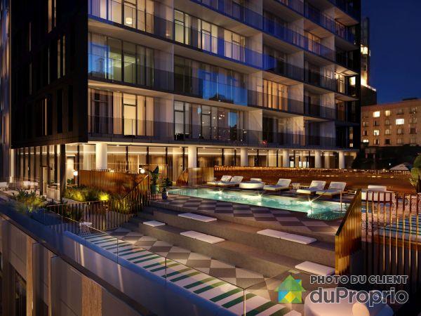 1200, rue Drummond - unité 208 - Le Gatsby, Ville-Marie (Centre-Ville et Vieux Mtl) à vendre