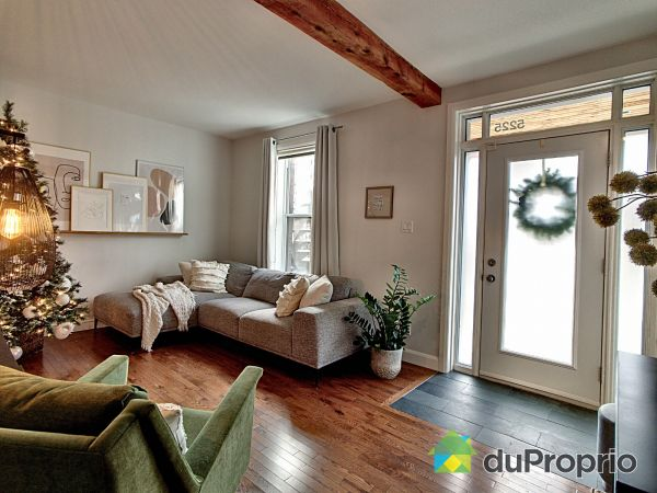 Living Room - 5225 4e Avenue, Rosemont / La Petite Patrie for sale