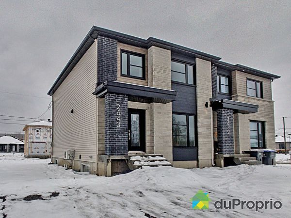 2643 rue Barbizon - Par Constructions Beaubois inc, St-Étienne-De-Lauzon for sale