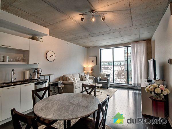 Living / Dining Room - 318-111 chemin de la Pointe-Nord, L'Ile Des Soeurs for sale