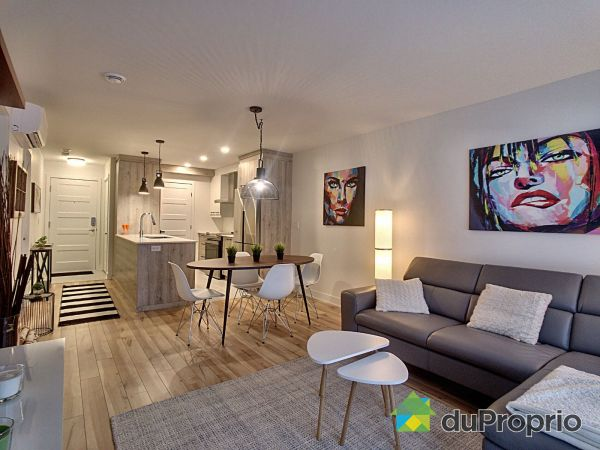 Living / Dining Room - 203-3625 rue Médard-Émard, Longueuil (St-Hubert) for sale