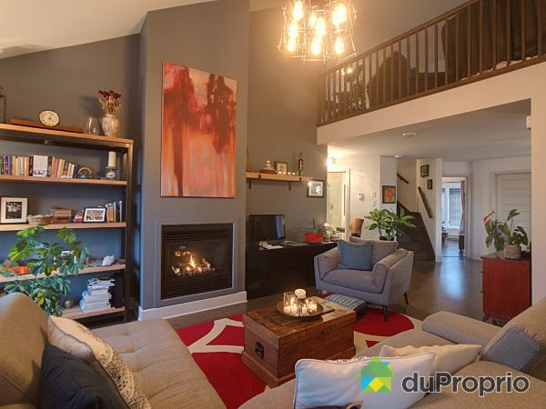 Living Room - 1-250 rue Anne-Hébert, St-Basile-Le-Grand for sale