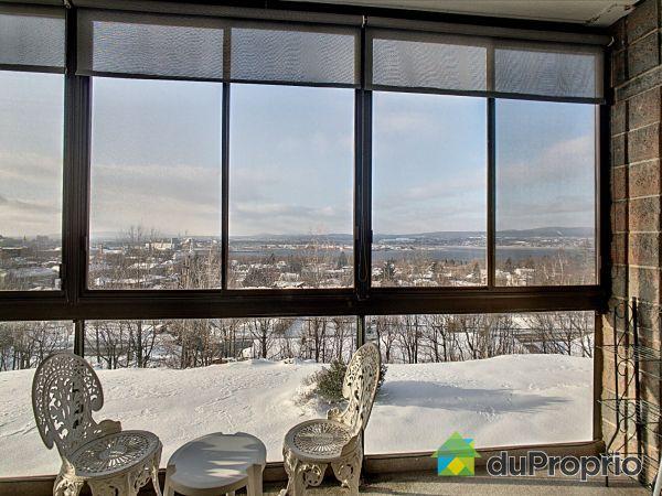 Vue panoramique - 203-157, rue du Mont-Marie, Lévis à vendre