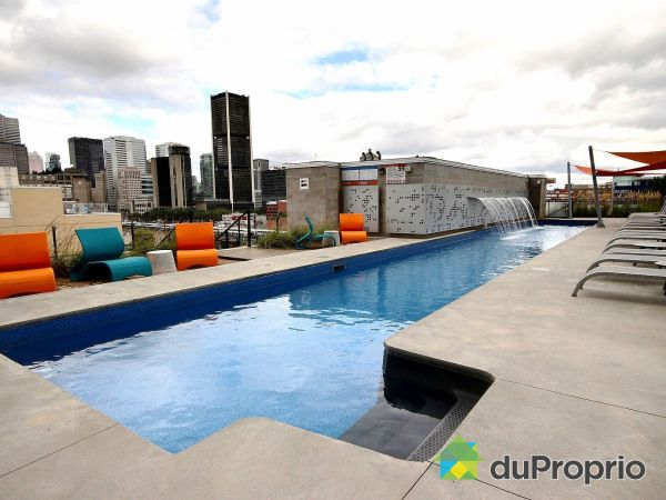 Pool - 1406-1000 rue Ottawa, Griffintown for sale