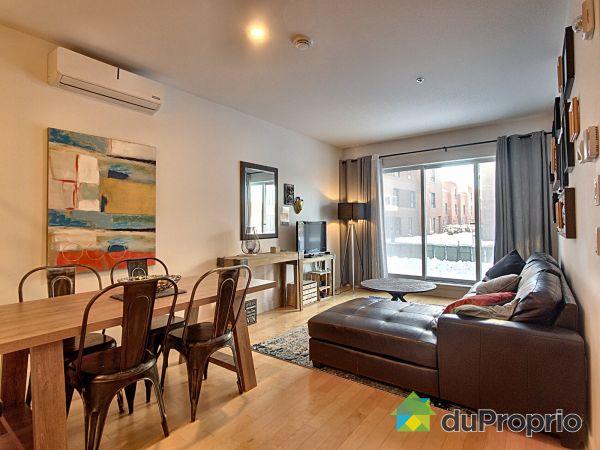 Living / Dining Room - 101-4550 2e avenue, Rosemont / La Petite Patrie for sale