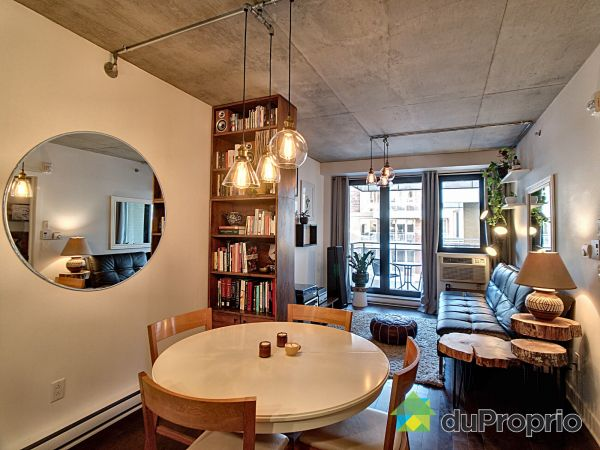 Dining Room / Living Room - 612-1010 rue William, Griffintown for sale
