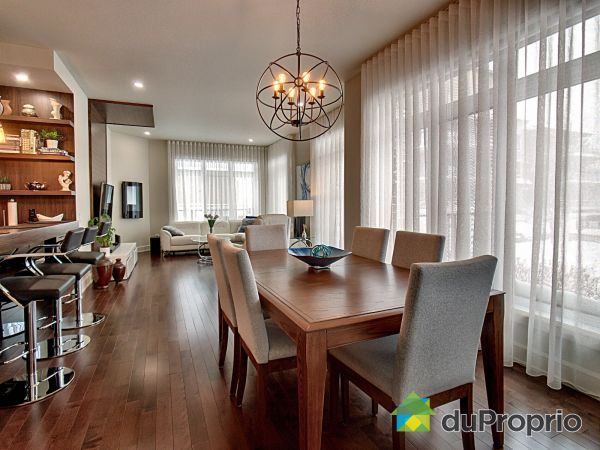 Living / Dining Room - 204-18500 rue J.-A.-Bombardier, Mirabel (St-Janvier) for sale