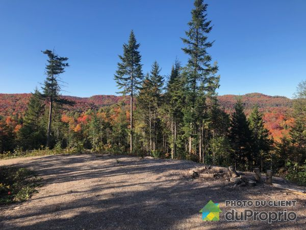 Vue sur montagnes - Terrain 33, Promenade des Cervidés - Réserve Morin-Heights, Morin-Heights à vendre