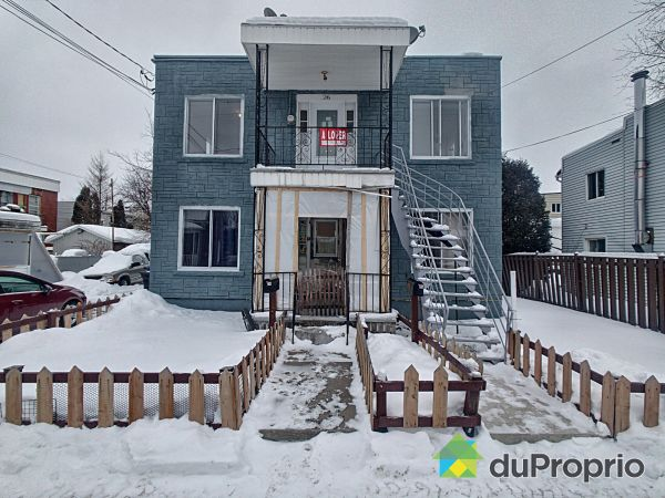 Winter Front - 24-26, rue Sainte-Catherine, Beauharnois (Beauharnois) for sale