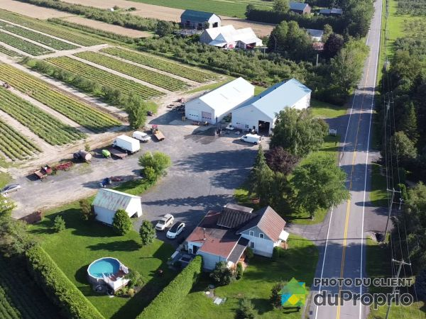 Aerial View - 1200 rue de la Grande-Caroline, Rougemont for sale