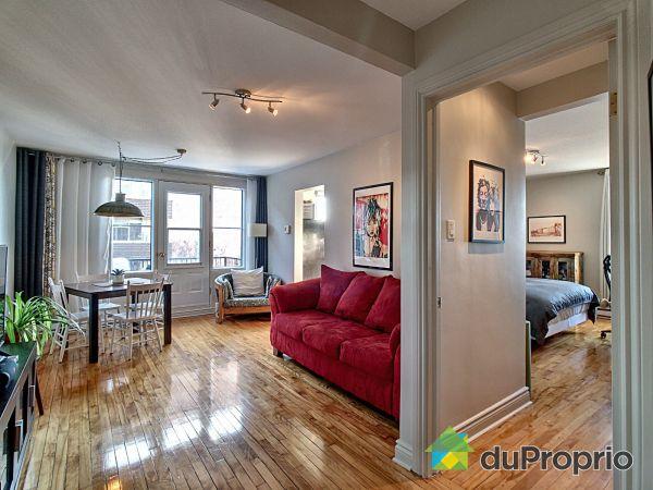 Living / Dining Room - 12-7140 avenue du Parc, Villeray / St-Michel / Parc-Extension for sale