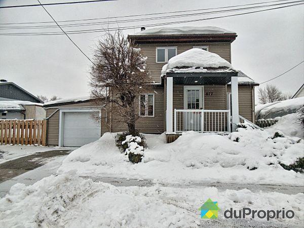 Winter Front - 877 rue Papineau, St-Vincent-de-Paul for sale