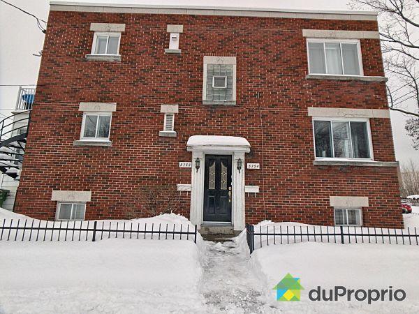 Winter Front - 5754-5756, rue de Toulouse, Mercier / Hochelaga / Maisonneuve for sale