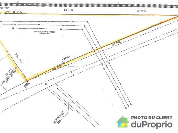 Lot - 648 montée Douglass, St-Cyprien-De-Napierville for sale
