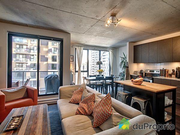 Living / Dining Room - 803-185 rue du Séminaire, Griffintown for sale