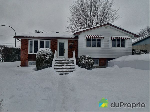 Winter Front - 1629 rue Gagné, Chambly for sale