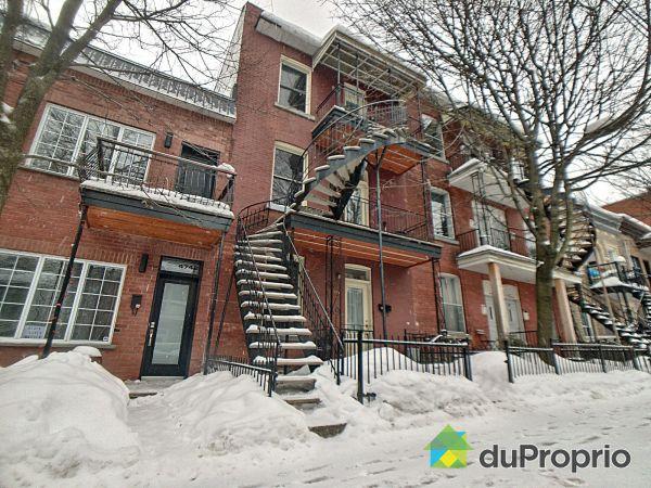 Winter Front - 4746-4748-4750, rue Cartier, Le Plateau-Mont-Royal for sale