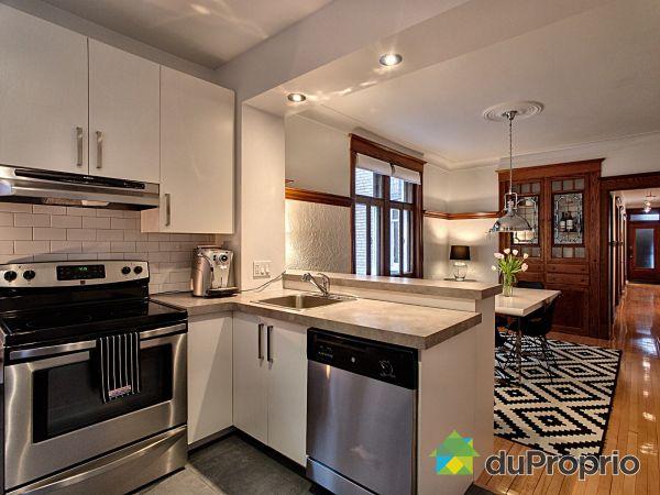 Eat-in Kitchen - 5-319 boulevard Saint-Joseph Est, Le Plateau-Mont-Royal for sale