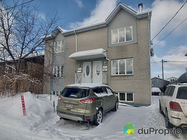 1643-1645-1647, rue Godin, Longueuil (St-Hubert) for sale