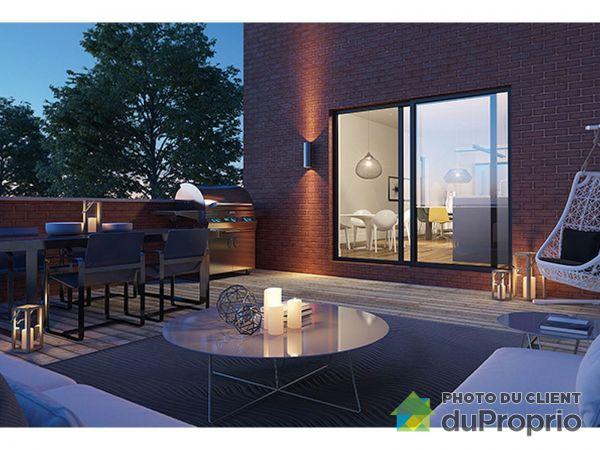 Terrasse - VIDA Lasalle -M3 - 7658 rue Bouvier- PAR MONDEV, LaSalle à vendre