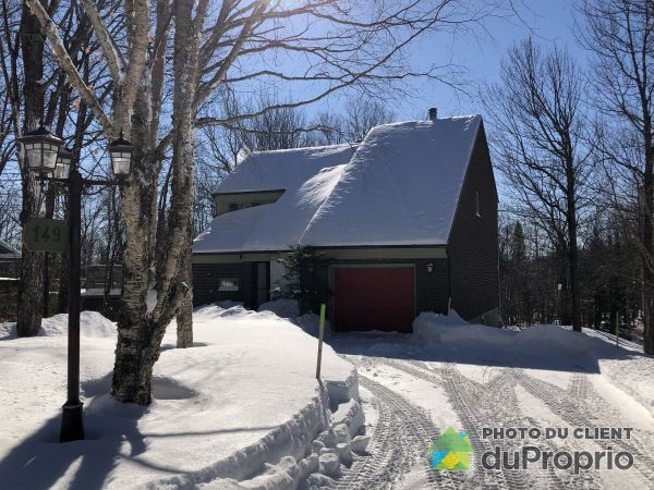 Winter Front - 149 chemin des Granites, Lac-Beauport for sale