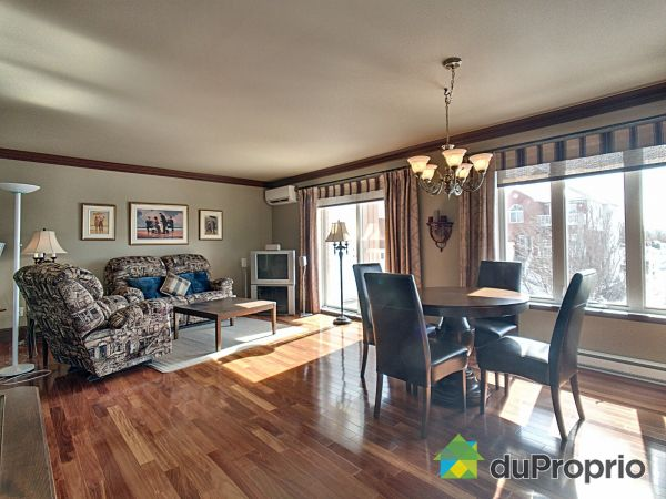 Living / Dining Room - 3387 rue Thérèse-Casgrain, Sherbrooke (Jacques-Cartier) for sale