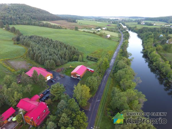 Aerial View - 300 rue Principale, St-Didace for sale