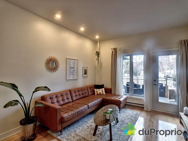Living Room - 101-4781 rue Saint-Ambroise, Le Sud-Ouest for sale