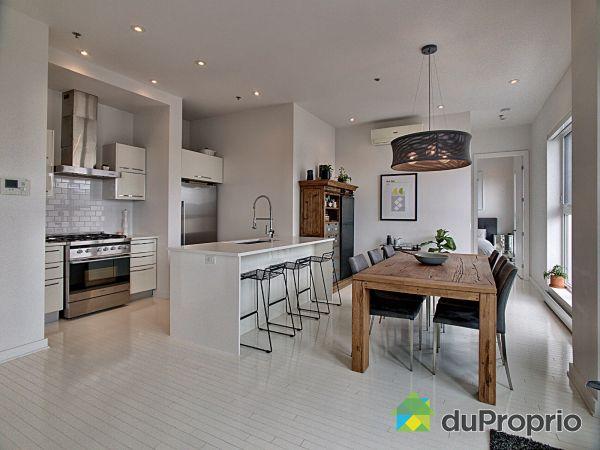 Eat-in Kitchen - 603-828 rue Sherbrooke Est, Ville-Marie (Centre-Ville et Vieux Mtl) for sale