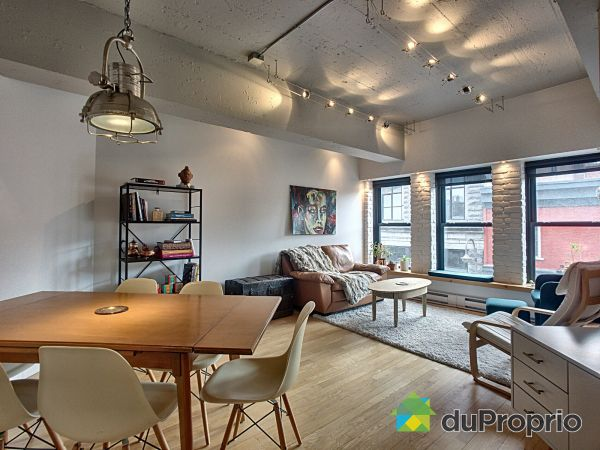 Dining Room / Living Room - 205-282 rue Saint-Joseph Est, Saint-Roch for sale