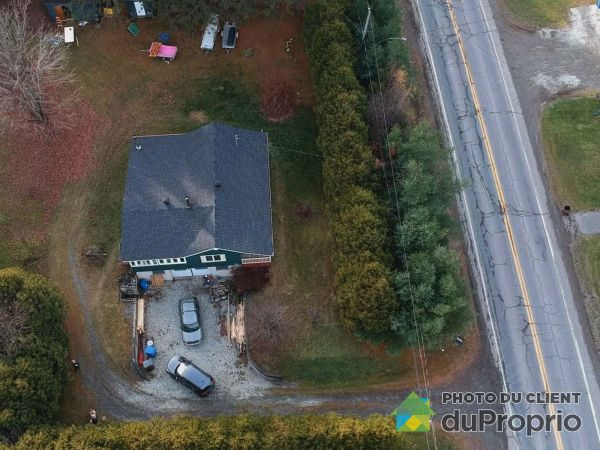 Aerial View - 1219 rue Principale Ouest, Lawrenceville for sale