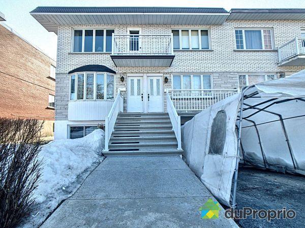 Winter Front - 11626-11628, avenue P.-M.-Favier, Montréal-Nord for sale