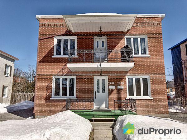 Winter Front - 2260-2270, avenue Bergemont, Limoilou for sale