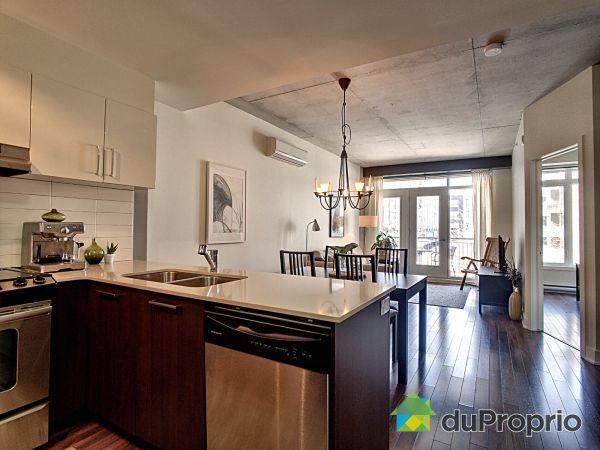 Kitchen - 202-245 rue Maguire, Le Plateau-Mont-Royal for sale