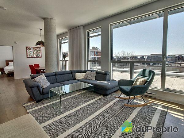 Living Room - 703-1255 boulevard Alexis-Nihon, Saint-Laurent for sale