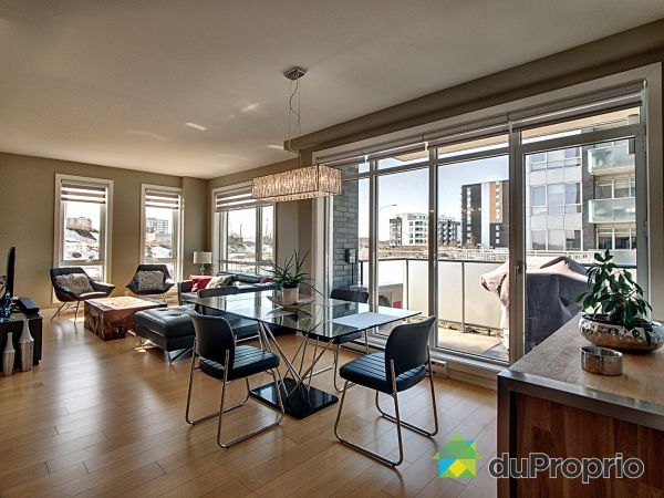 Dining Room / Living Room - 107-3449 avenue Jacques-Bureau, Chomedey for sale