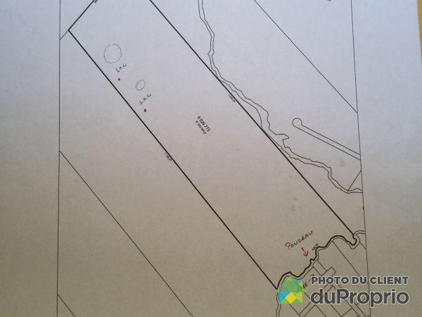 Plan du terrain - chemin des Chatons, Lantier à vendre