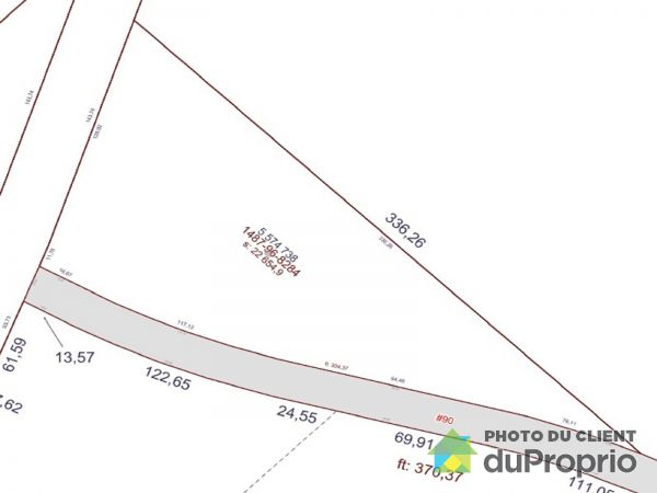 Lot -  rue Saint-Thomas, ND-Du-Rosaire for sale