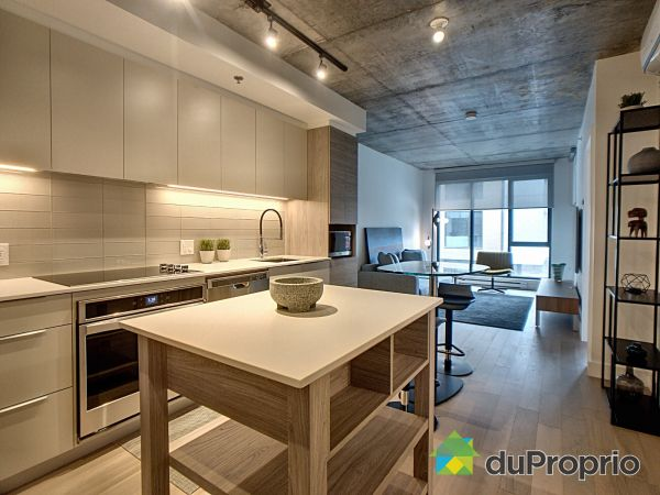 Kitchen - 213-75 rue de Castelnau Ouest, Villeray / St-Michel / Parc-Extension for sale
