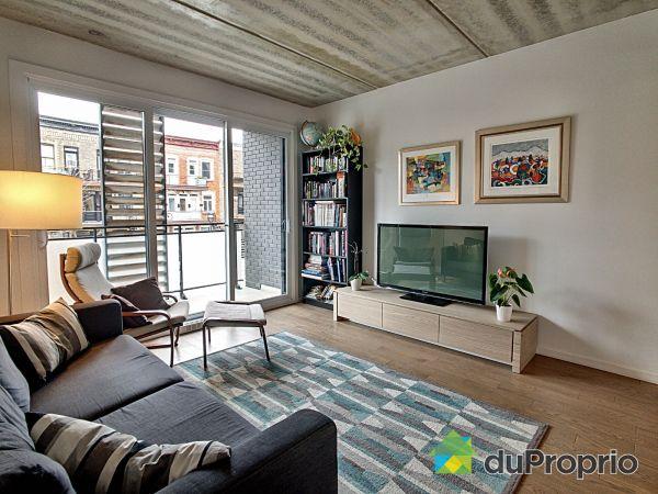 Living Room - 201-4635 rue Messier, Le Plateau-Mont-Royal for sale