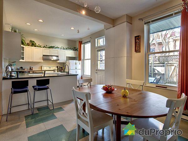 Eat-in Kitchen - 4678 rue Saint-André, Le Plateau-Mont-Royal for sale
