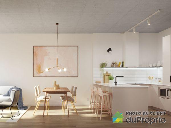Quartier Général - Phase 2 - unité 832 - Par Prével, Griffintown à vendre