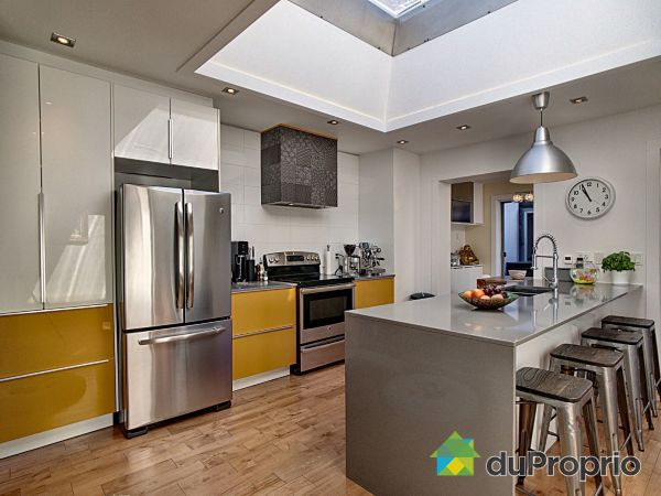 Kitchen - 9766 rue de la Roche, Ahuntsic / Cartierville for sale